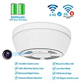 Hidden Camera WiFi Smoke Detector,FUVISION Nanny...