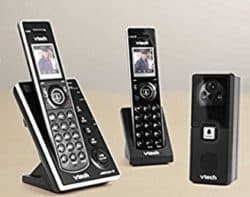 2 VTech handsets and a video doorbell