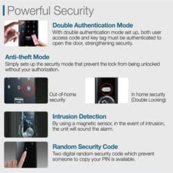 The four security features of this smart lock