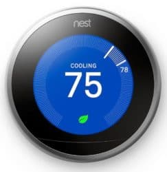 The Nest 3rd Generation has a cooling cycle
