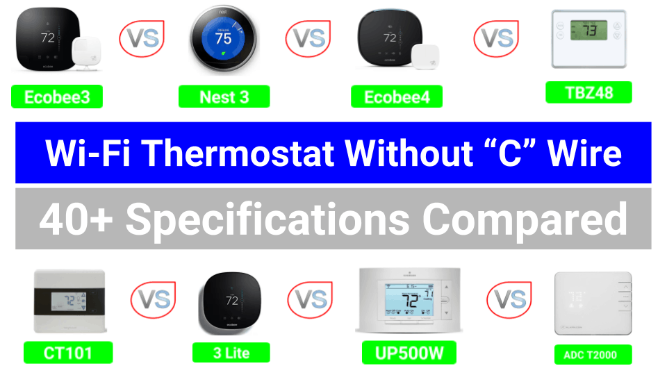 Wifi Thermostat Without C Wire
