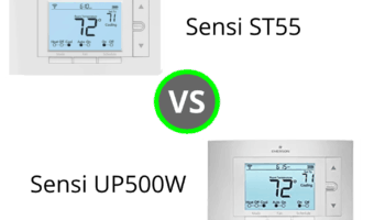 Sensi Thermostat: ST55 vs UP500W- Do you live in an Apple Smart Home?