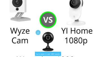 Wyze Cam 1080p vs YI Home 1080p vs Wansview 1080p