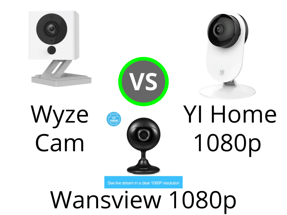 Wyze Cam 1080p vs YI Home 1080p vs Wansview 1080p – MySmartaHome