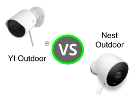 YI Outdoor Camera vs Nest Outdoor Camera