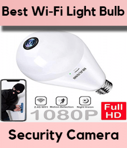 Best Wifi Light Bulb Security Camera